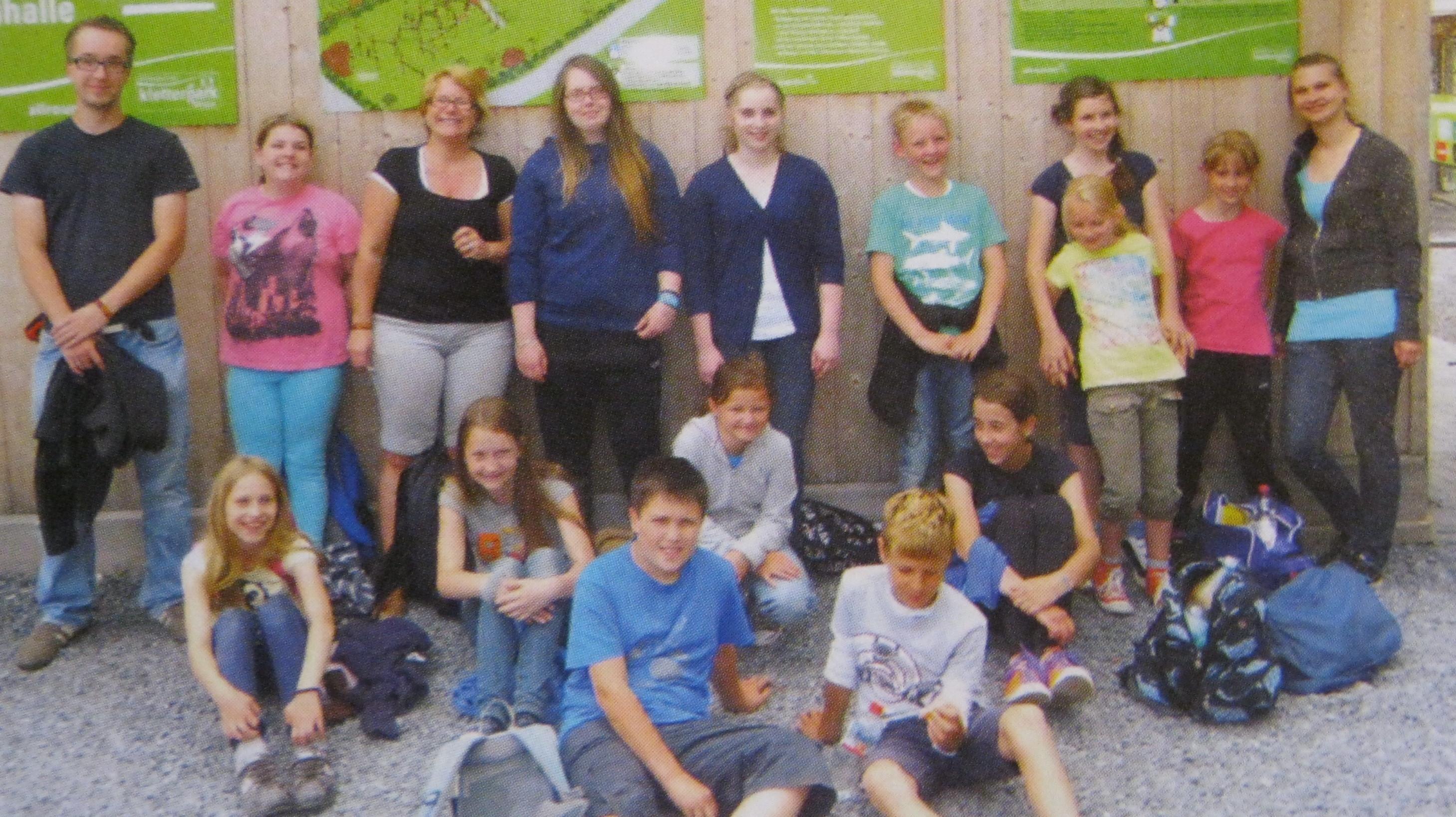 Die Hambacher Messdiener – dem Himmel nah!