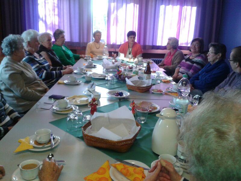 Seniorenfrühstück in Hambach