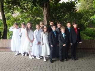 Erstkommunion in Hambach