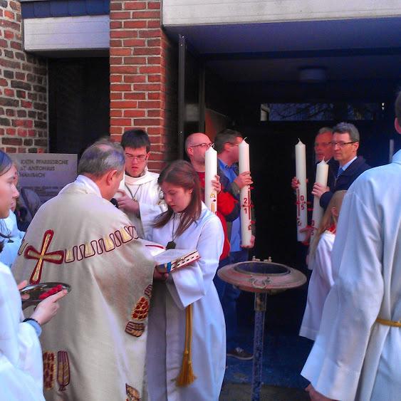 Osternachtsmesse unserer 5 Pfarrgemeinden