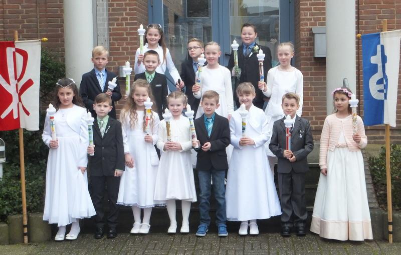Wir feiern Erstkommunion