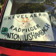 Hambacher Radpilger starteten am 23. August zu ihrer 27. Pilgertour nach Kevelaer